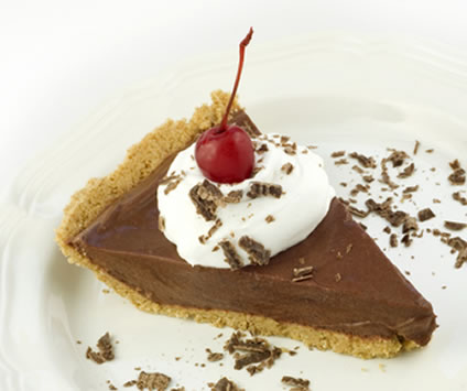 Scrapbook of Christmas Firsts: Chocolate Cream Pie, Easy