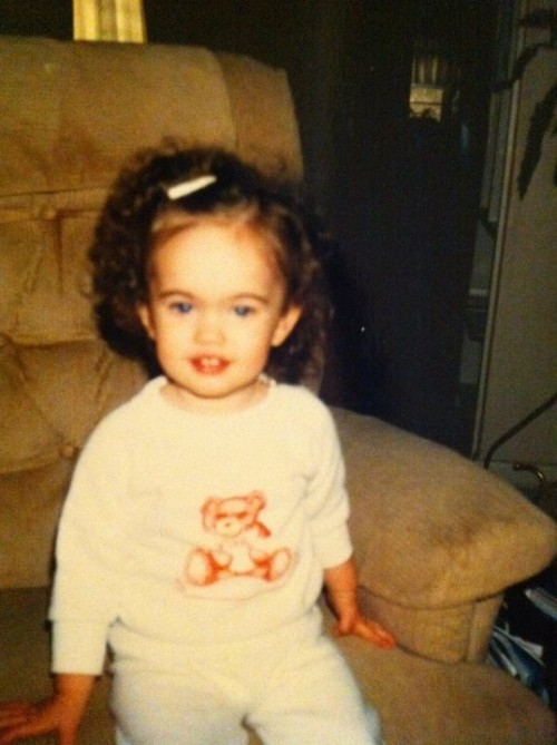 megan fox as little girl. Actress Megan Fox thrilled