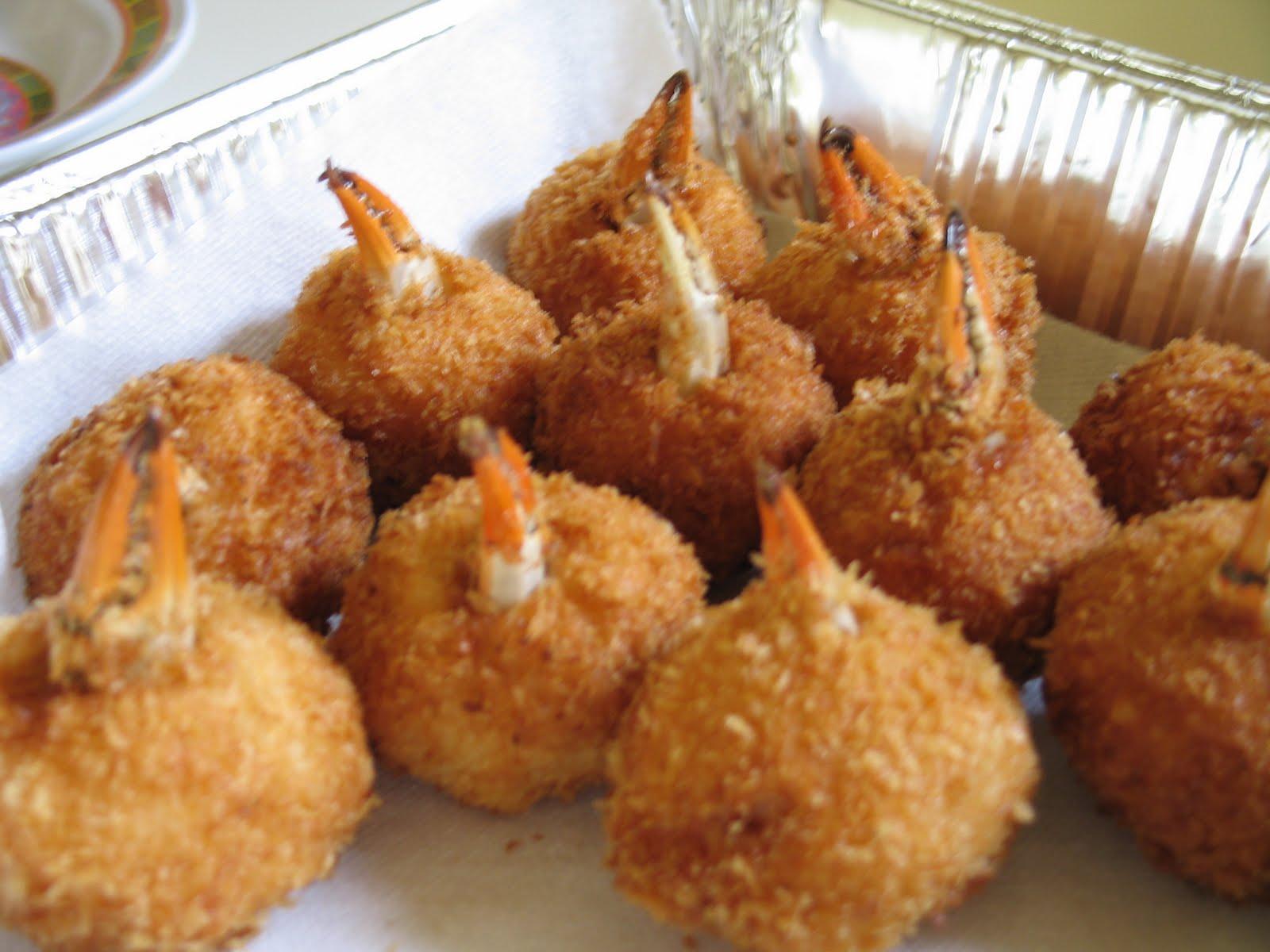 Crab & Scallion Stuffed Shrimp Recipe — Dishmaps