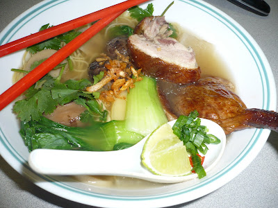 noodle soup with duck