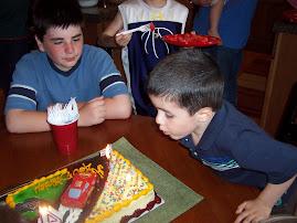 Preston's 4th Birthday