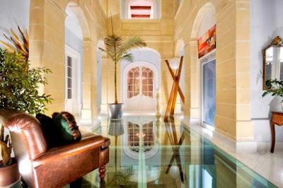 Places of Decor: Beautiful Villa Interior on the Island of Malta