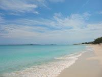 cabbage beach, paradise island bahamas