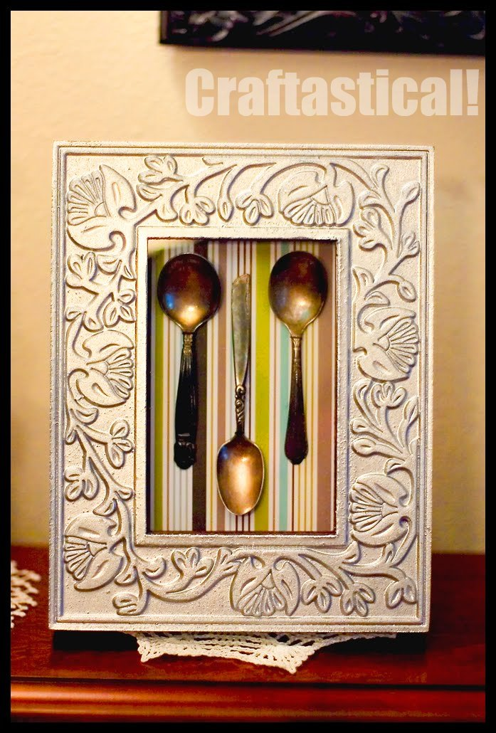 tutorial shadow box from regular frames - Dollar Store Picture Frames