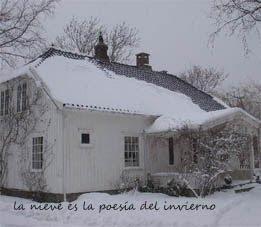 La nieve es la poesía del invierno
