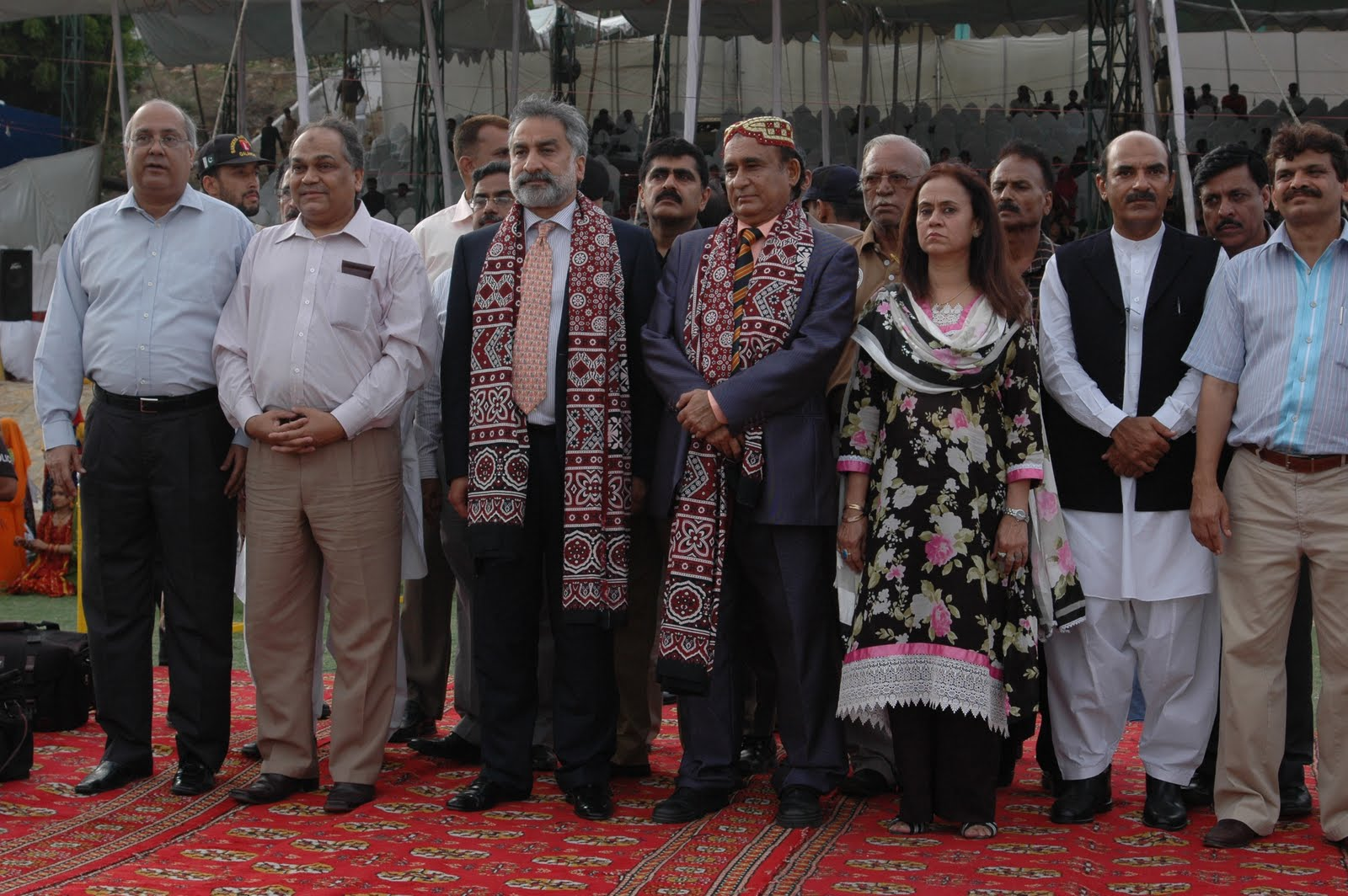 The 13th edition of Sindh Games, promoting the theme of tolerance and