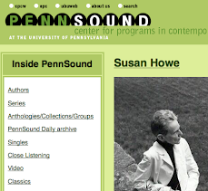 Susan Howe on PennSound