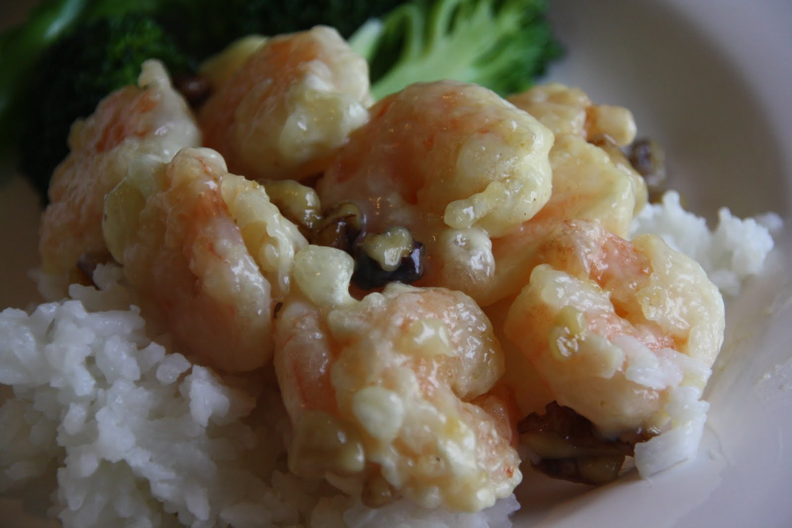 Making house a home: Honey Walnut Shrimp