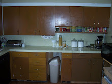 the kitchen { before }