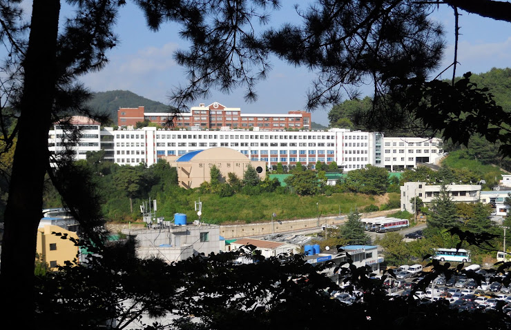Sonny's high school in Busan.