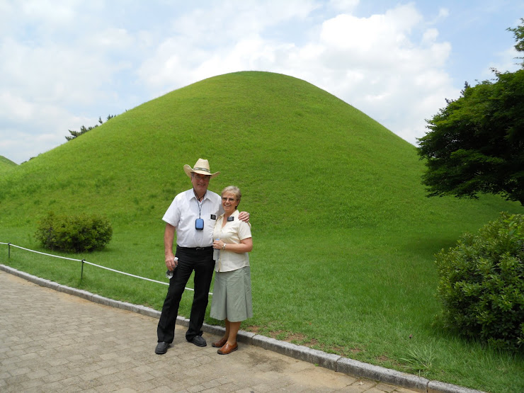Shilla Dynasty Burial Mounds