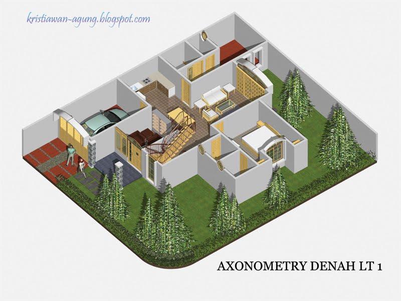 desain rumah idaman rumah idaman 2 model mi 202 270 ak