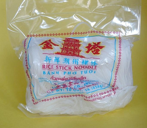 noodle water for Noodles Rice Noodles Banh Soup Phở Pho Vietnamese  Flat