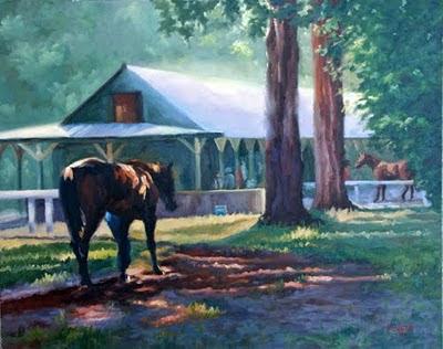 Saratoga backside