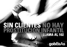 Contra la prostitución infantíl...