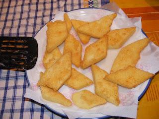 semolino dolce impanato e fritto