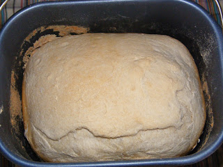 pane fatto in casa con la macchina del pane