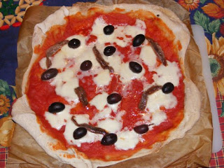 pizza fatta in casa con poolish