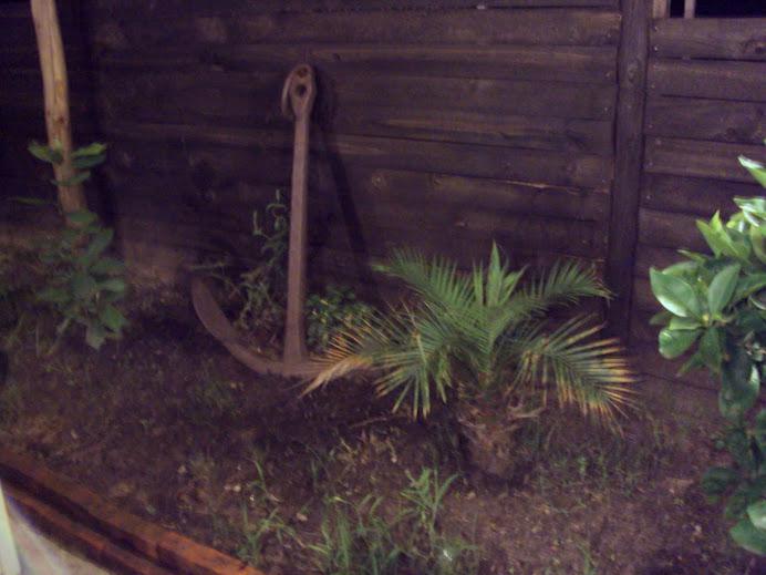 lo adorna un pequeño jardín