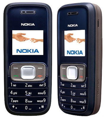 Nokia 1209 – Entry-level mobile phone with Torch-light