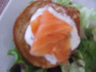 , simple supper of connemara smoked salmon and easy blinis, Connemara Smokehouse