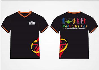 Camisetas do Ministério de Dança