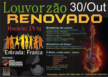 LOUVORZÃO RENOVADO - IPR Mário Covas - Uma Igreja Viva e Super Ativa na Ação do Espírito.