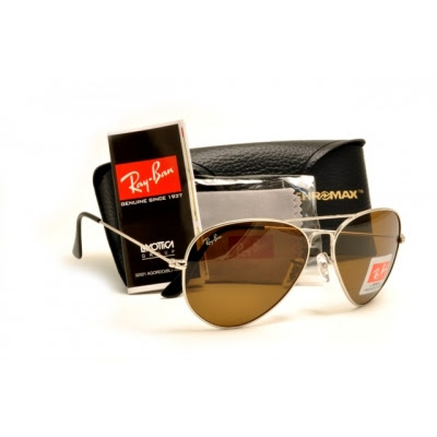 ray ban aviators silver. New Ray-Ban Aviator sunglasses
