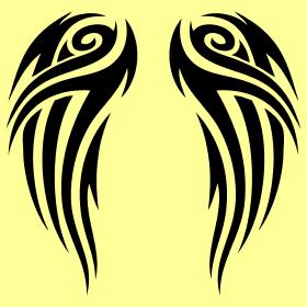 Tribal Wings Designs