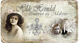 Sjekk Hilde Heimdals vakre nettbutikk - www.hildeheimdal.no