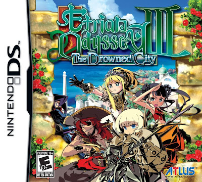 Etrian Odyssey 3 The Drowned City