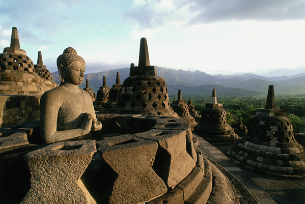 "What is Not Dhamma-7-Reading Books of Dhamma is Not Dhamma (From ""Buddha And His Dhamma"" by Dr. BR Ambedkar) Tropical_vacatioN_destination_borobudur_pic"