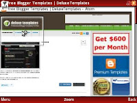 Cara Download Template Blog via Ponsel.