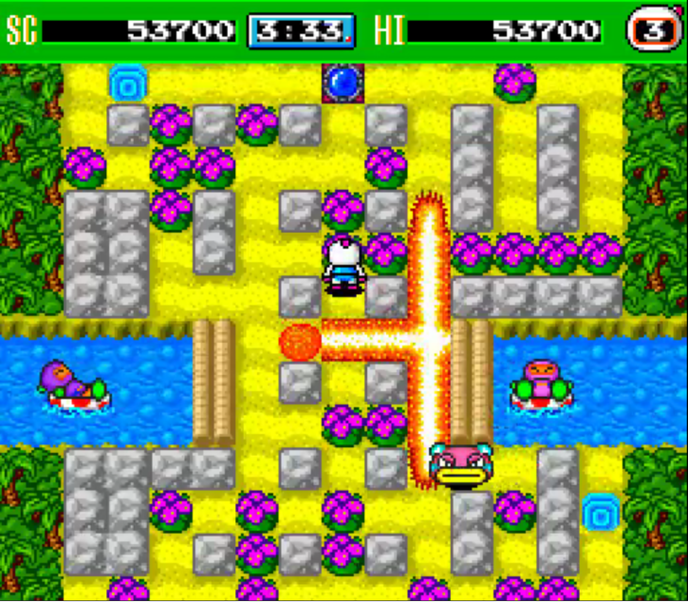 Retro Game Of The Week Bomberman 93 Pixlbit Bomb This Sounds Easy I Know But Little Things Can Make It Tricky If A Blast Hits Warp Enemies Will Spawn From And Move In Every Direction