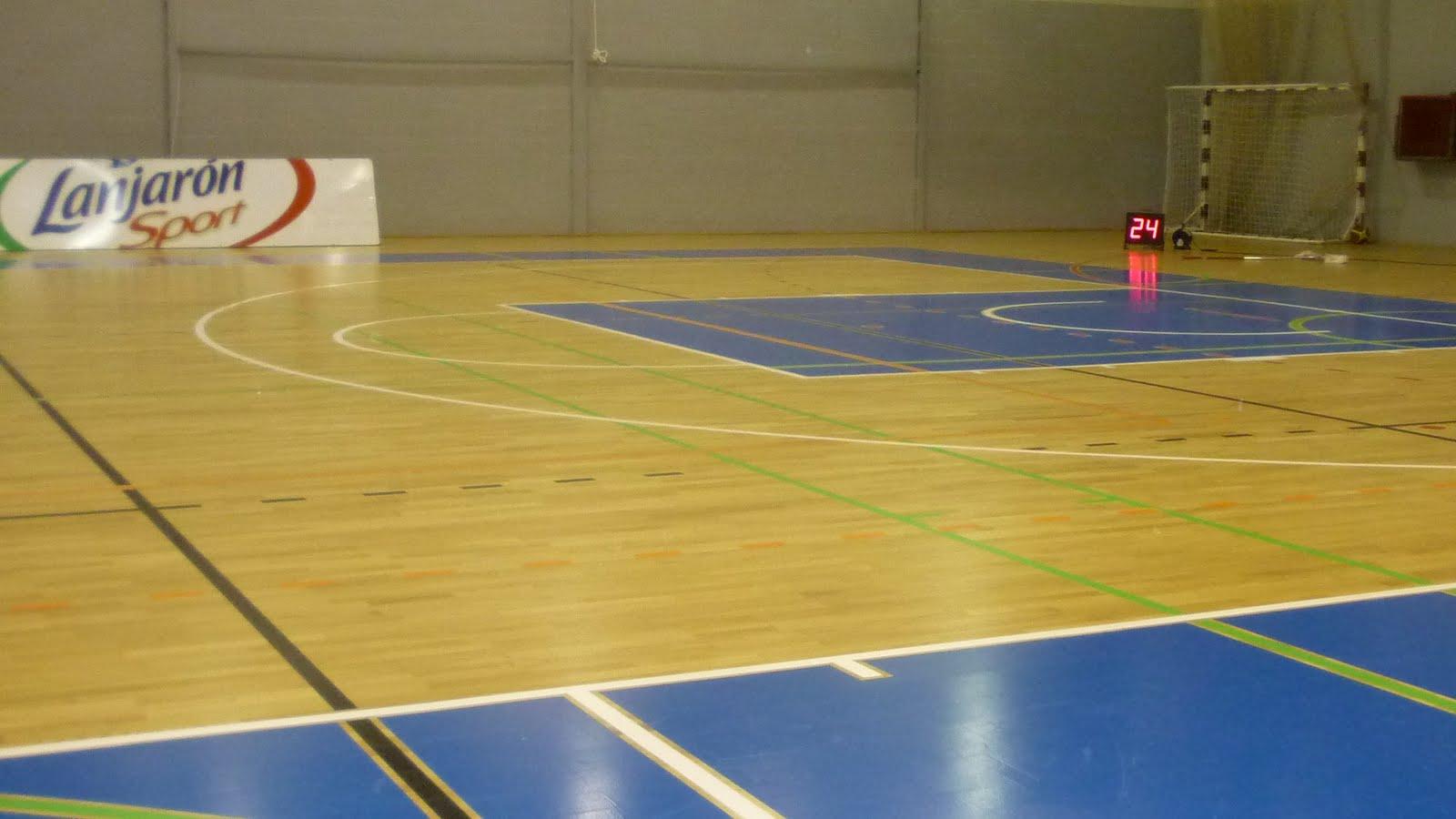 Basket azul n gozada de nuevo parquet - Como dejar el parquet como nuevo ...