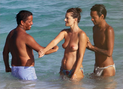 Amusing paulina porizkova topless for