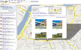 Exemple d'intégration des données Vinivi dans Google Maps