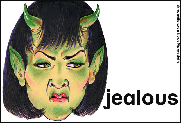 La Mente Inconsciente: Jealous Little Miss Grumpy