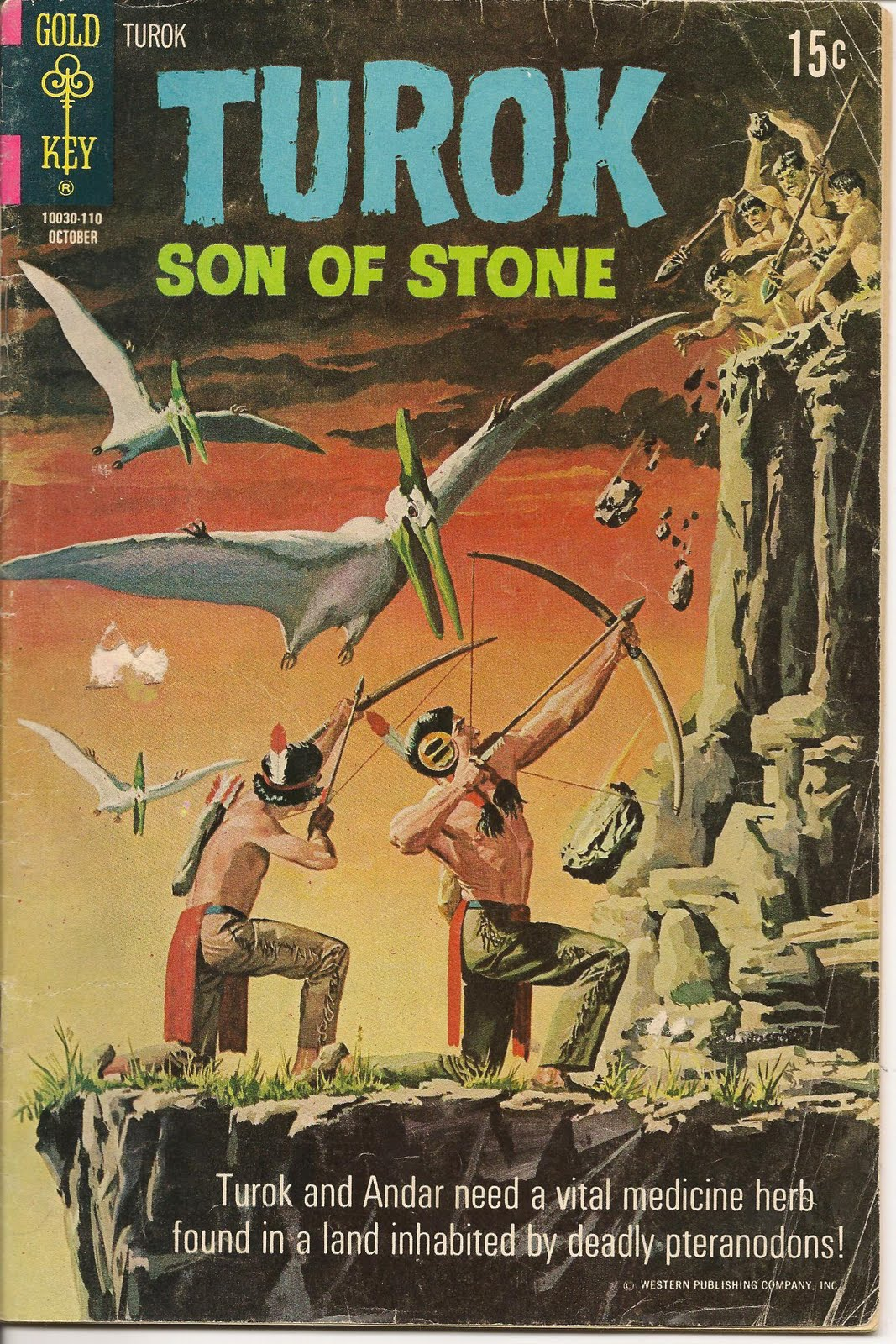 silver age gold  why i love turok  son of stone