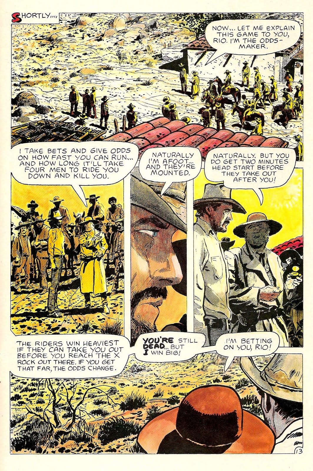 once upon a time in the west in comics: rio concludes