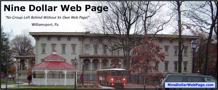 Nine Dollar Web Page (archive)