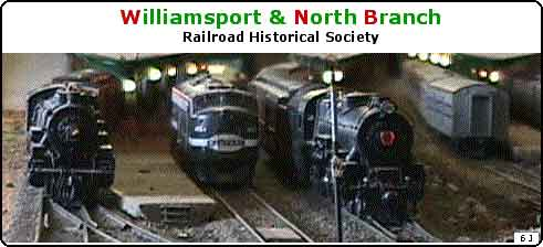 Williamsport & North Branch RR Historical Society | Muncy PA