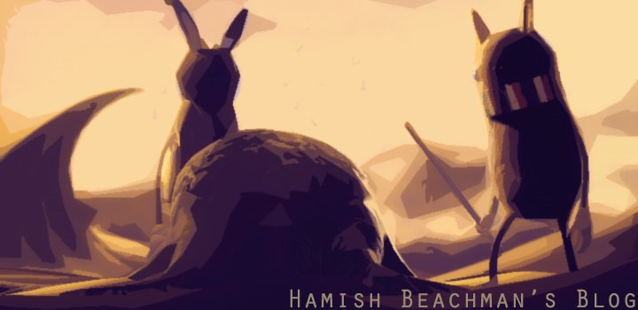 Hamish Beachman's blog