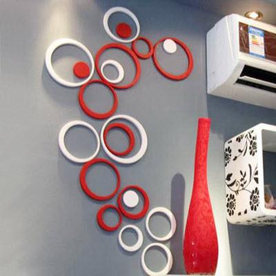 ديكورات  ثري دي  2013  3D Polka_circles+wall+decor