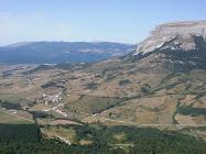 Vista del Valle desde el Puerto de Lizarraga