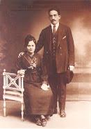 Boda de Juan Martín Senar Erdocia y Manuela Marichalar Ruicenea