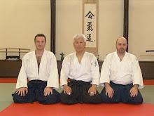 Shihan Koichi Fujii, Sensei Sorin Despa si Cristi Craciun