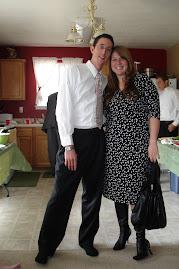 Grandson Michael & Hannah