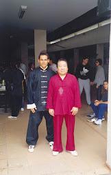 Mestre Fu Sheng Yüan e Prof. Carvalho