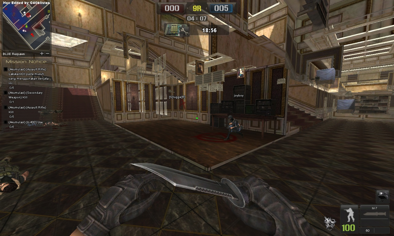 Cheat Game Online Point Blank Wall Hack